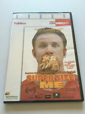 SUPER SIZE ME - CINE PUBLICO II - DVD - 100 MIN - SLIMCASE - NEW SEALED - NUEVA