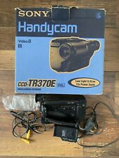 Sony handycam ccd-tr370e Camcorder Works Boxed See Description
