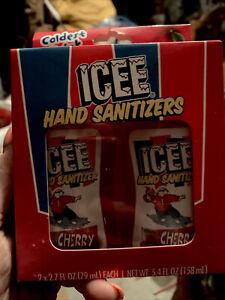 ICEE CHERRY 🍒 SANITIZER  Expires 2022, 2 Bottles, 2.7 Oz Each, New In Box