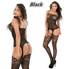 Sexy Lingerie Fishnet Body stockings Dress Underwear Babydoll Sleepwear NY9801B