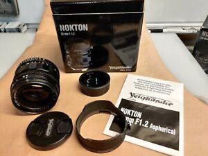 Voigtländer Nokton 35 mm f1.2 aspherical für Leica M