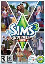 PC The Sims 3 University Life Limited Edition Expansion Pack