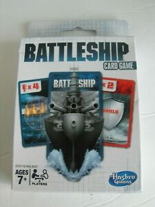 HASBRO Battleship Card Game Ages 7+, For 2 players ~ NEW