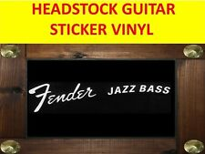 FENDE JAZZ BASS WHITE STICKER HEADSTOCK PRODUCT ON SALE UNTIL END OF STOCK