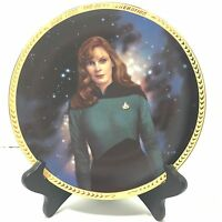 Hamilton Collection '93 Star Trek The Next Generation Collector Plate Dr Crusher