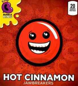 Cinnamon Jawbreaker Red Hot Fireball Flavor 5 Pound Bulk Bag