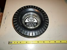 Vintage Cigerette Ashtray General Tire Service Pittsburgh PA Power Jet Rubber