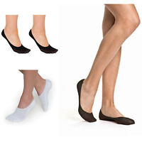 10 Pairs Women Ladies Invisible Footsies Shoes Liner Ballerina Flats Socks AW