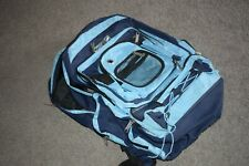 USED PRO SPORT BACKPACK, BLUE, DOUBLE COMPARTMENT