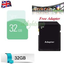 32gb SD Card High Speed Adapter TF Flash Memory Storage Card for Phone Tablets
