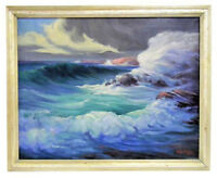 PETER KOSTER (AMERICAN, 1891-1978) CLEARING AFTER STORM ROCKPORT MA SEASCAPE