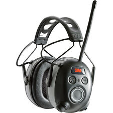 3M WorkTunes Black Wireless Hearing Protector Bluetooth & AM/FM Radio  90542-3DC