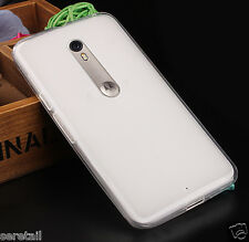 Ultra Thin Transparent Soft Silicone Back Case Cover FOR MOTOROLA MOTO X PLAY