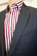 Hackett of London Navy Pinstripe Jacket. Sizes: 42L RRP £260