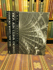 1992 SIGNED! Lowe STANFORD WHITE'S NEW YORK Architecture History Book HB/DJ 1st