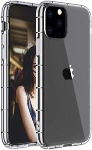 for iPhone 11 Pro 5.8 Inch Crystal Clear Slim case TPU Silicone Cover wireless