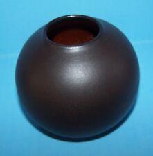 Wormser Terra-Sigillata Studio 209/3 Mid Century Art Pottery Germany Black Vase