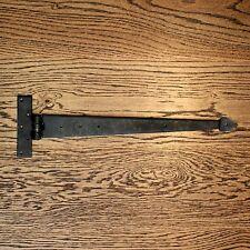 COPPIA da 24 Pollici T Cerniere Tee Cerniera Cinturino Cerniere Nero Vintage Freccia Ferro Battuto