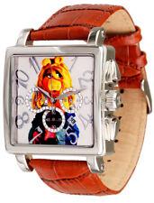 Disney Uhren Miss Piggie Muppet Show Damenuhr Quarz Chronograph