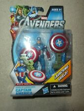 "Marvel Universe Captain america Launching Shield   4"" FIGURE 2014"