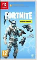 Fortnite Deep Freeze Bundle - Nintendo Switch - NEW ! - Fast Postage - IN STOCK
