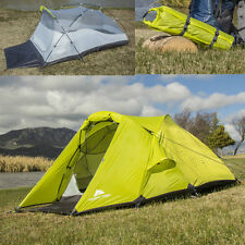 Backpacking Ultralight Tent For 2 Hiking Mountain Trips Camping 4 Season Shelter