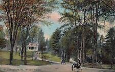 Postcard Western Avenue St Johnsbury VT