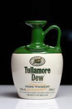 Tullamore Dew Irish Ceramic Whisky Decanter - Rare Vintage 1980's