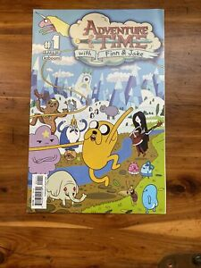 Adventure Time #1 Cover B