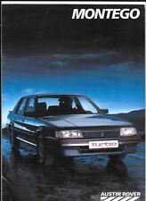 Montego Car Sales Brochures