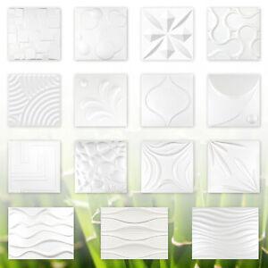 3D Paneele Wandverkleidung Deckenplatten Natur Bambusfaser Verblender 1 Platte