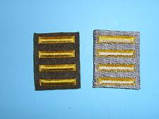 b1653-4 WW 2 US Army Overseas Bars EM style 4 bars