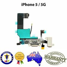 for iPhone 5 - Dock Connector Charging Port Microphone Flex Replacement BLACK