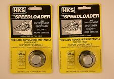 2 Pack HKS 586-A Speed Loader 38/357 Mag FitsS&W Ruger New In Package 586-A 2 Pk