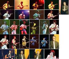 "100 6""x4"" Steve Hackett concert photos 1976/77/78 2005/2009/2010/2012"