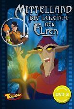 Mittelland - Die Legende der Elfen vol. 3 ( Kinder-Zeichentrick ) DVD NEU OVP