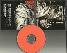 DE LA SOUL Baby Phat & Watch Out CLEAN & INSTRUMENTAL PROMO DJ CD Single 2001