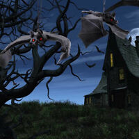 DIY Halloween Party Decoration Rubber For Bats Hanging adornment Home Decor New