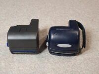 Polaroid 636 & Polaroid 600 Model Black/Blue Color lot of 2 Untested