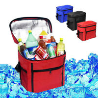 1PC Large Portable Cool Bag Insulated Thermal Cooler for Food Drink Lunch Picnic