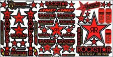 New decal sticker for rockstar energy 3 sheet ST3 car motorcycle atv bike racing