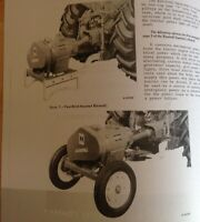 "Ford Series 100/"" 8/'  902 Pull Type Trailer Brush Cutter Bush hog Owner/'s Manual"
