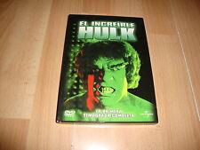 EL INCREIBLE HULK 1º PRIMERA TEMPORADA COMPLETA EN DVD CON 4 DISCOS BUEN ESTADO