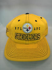 PITTSBURGH STEELERS VINTAGE 1990'S PRO PLAYER SNAP BACK HAT