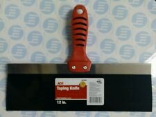 """Ace Drywall Taping Tool Palette Scraper - Stainless Steel - 12""""/30cm"""