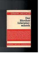 Erwin Jaeckle - Der Zürcher Literaturschock - 1968