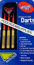 Licensed AFL Aussie Rules ESSENDON BOMBERS Darts Set with 6 Flights & Case