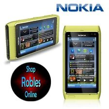 Nokia N8-00 Green 16GB Ohne Simlock Smartphone GPS 3G 12MP WLAN WIE NEU OVP