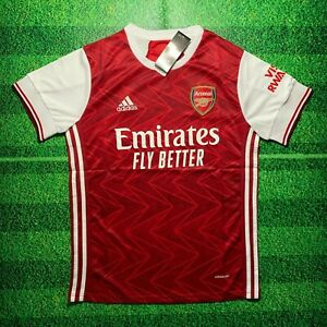 Arsenal 20/21 Plain Back Home Jersey