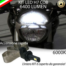 KIT A LED H7 6000K 3200 LUMEN DUCATI MONSTER 696 ANABBAGLIANTE ACCENSIONE RAPIDA